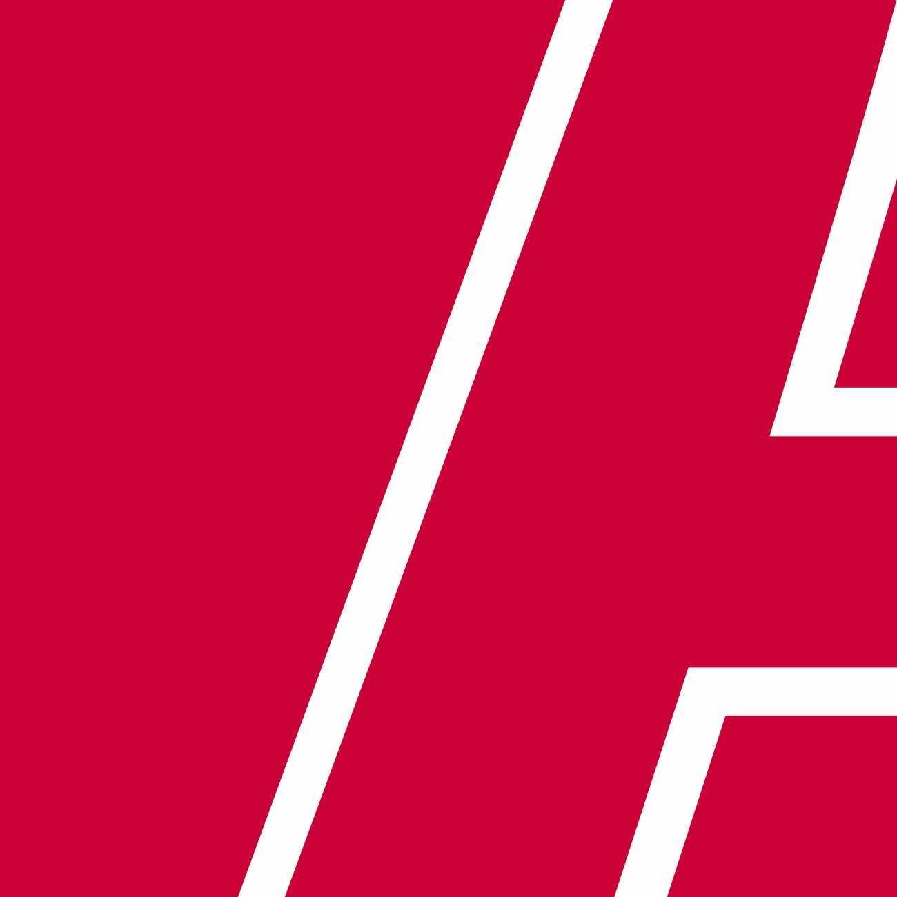 Angeschnittenes Adimmo A auf rotem Hintergrund