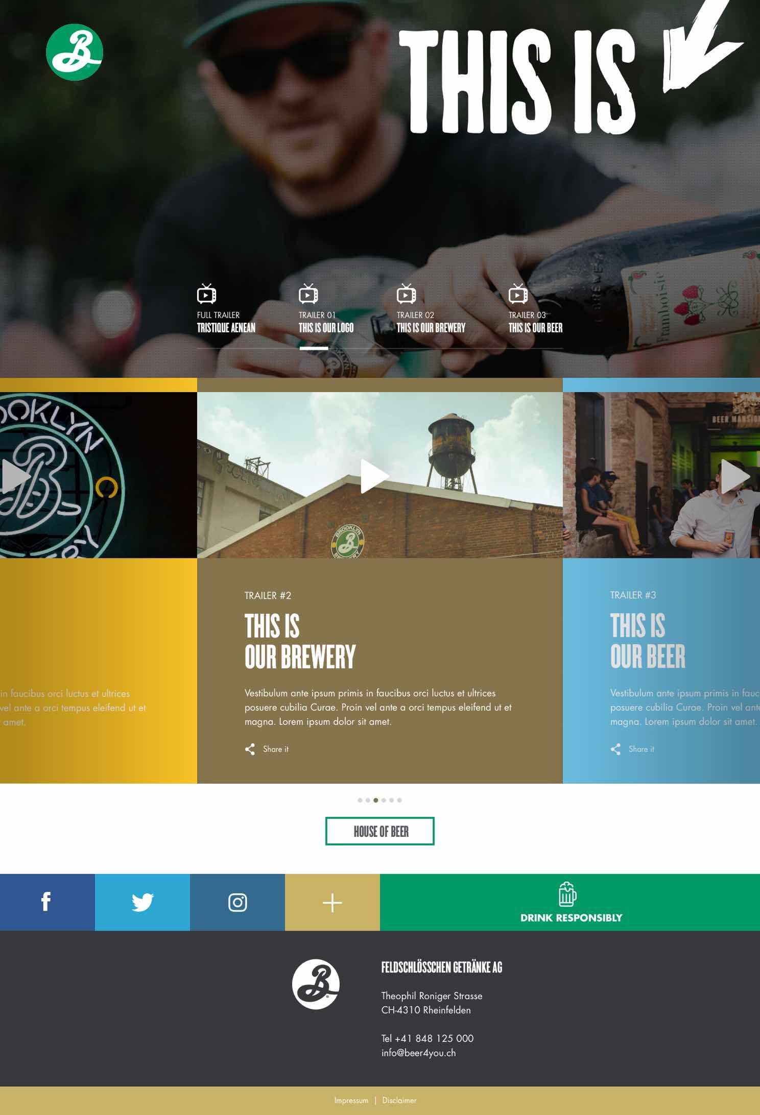 Website von Brooklyn This is