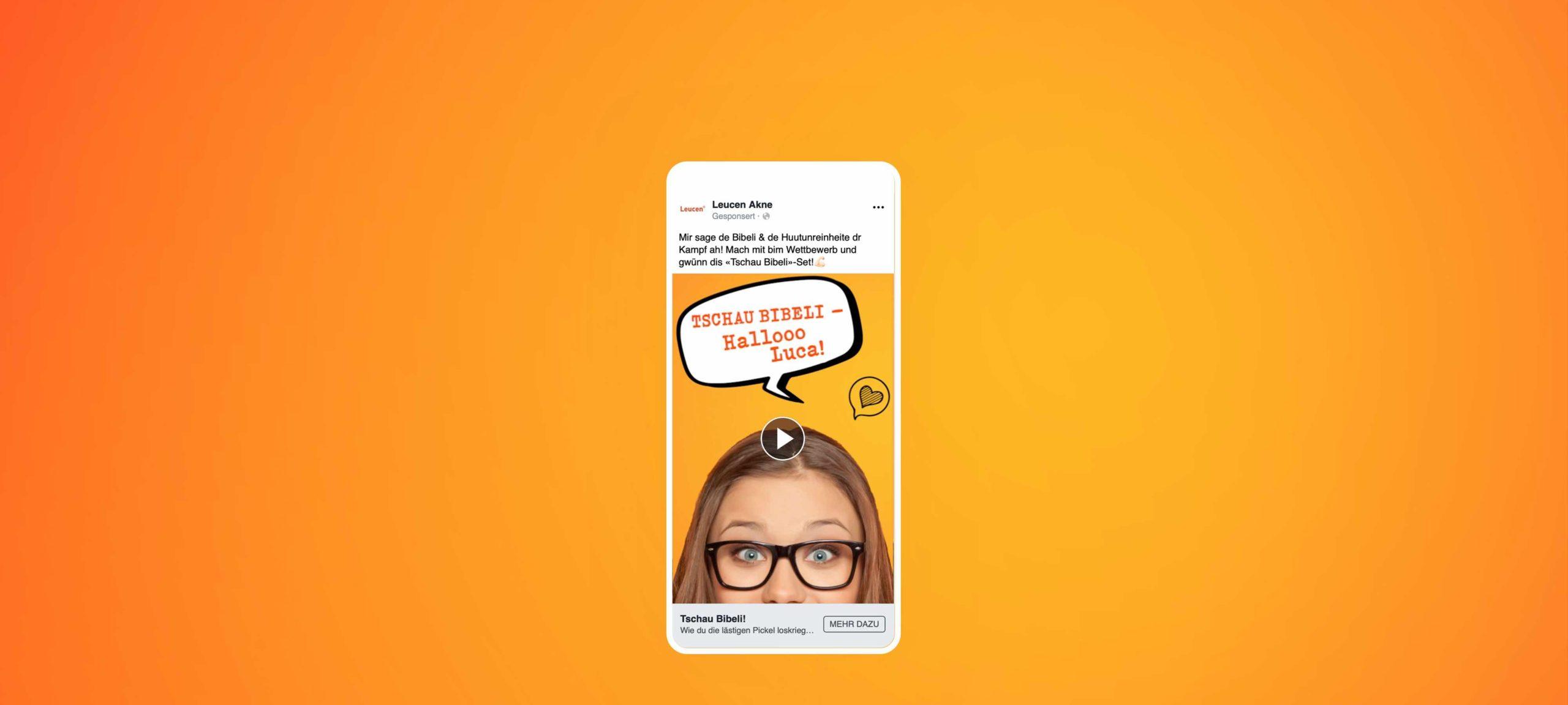 Visualisierung einer Leucen Ad auf dem Smartphone