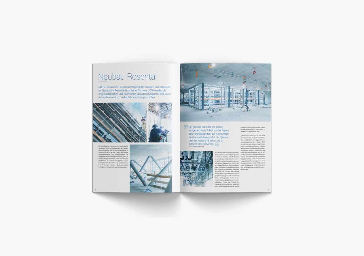Jahresbericht der UZB